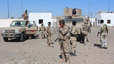 Photo of قوات الانتقالي تستهدف تعزيزات عسكرية لقوات هادي في أبين