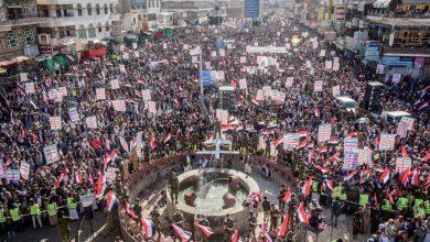"Photo of شاهد  اليمنيين يحتشدون في مناطق سلطة صنعاء لإحياء ذكرى""21سبتمبر"""