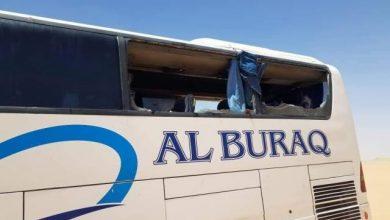 Photo of مسلحون يطلقون النار على حافلة تقل مسافرين على خط العبر