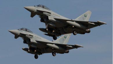 Photo of طيران التحالف يشن غارات جوية على أراضي جيزان