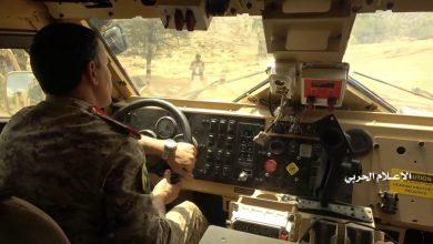 "Photo of شاهد  وزير دفاع صنعاء يقود عملية ""نصر من الله"" من أرض المعركة"