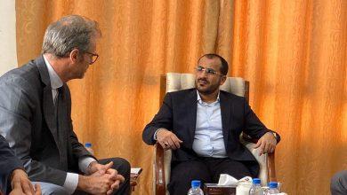 Photo of رئيس وفد صنعاء للمشاورات يلتقي بالسفير الفرنسي في مسقط