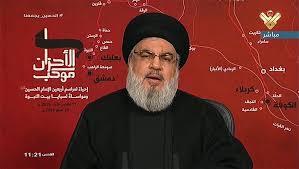 Photo of نصر الله: نرفض استقالة الحكومة.. يجب علينا مواجهة واقعا خطير