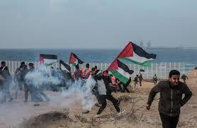 "Photo of إصابة عشرات الفلسطينيين في مواجهات ""جيش الاحتلال"" شرق البيرة"