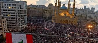 Photo of لبنان: استمرارا حشود المتظاهرين لليوم السادس ورفضا للورقة الاقتصادية التي أقرتها الحكومة