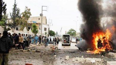 Photo of 10قتلى وعشرات الجرحى بانفجار سيارة مفخخة شمالي الرقة في سوريا