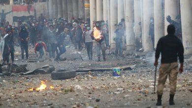 Photo of 7 قتلى وإصابة 140 متظاهر بالرصاص في جنوب العراق