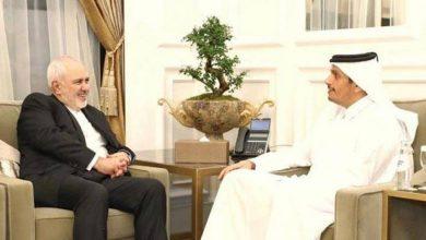 Photo of ظريف خلال لقاءه نظيره القطري: الولايات المتحدة مسؤولة عن عواقب أعمالها الإرهابية