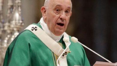 """Photo of بابا الفاتيكان يحذر من """"صفقة القرن"""""""