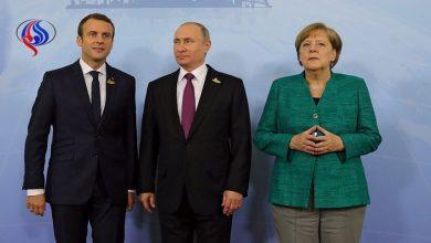 Photo of بوتين.. لماكرون وميركل تحييد تهديد الإرهاب والحفاظ على وحدة سوريا ضروريا