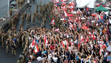 Photo of لبنان موجهات بين الجيش ومحتجين