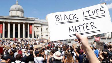 Photo of لندن وبرلين ومدن أخرى تشهد احتجاجات تضامناً مع فلويد