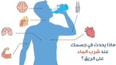 Photo of ماذا يحدث للجسم عند شرب الماء على معدة فارغة يوميا