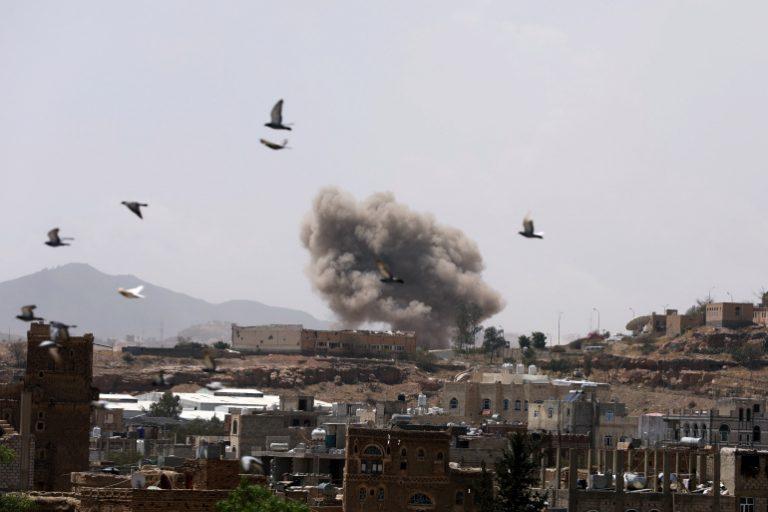 إحصائية لغارات طيران التحالف على كل محافظة يمنية