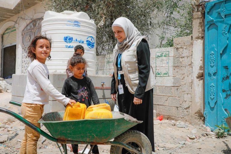 الأمم المتحدة تبلغ صنعاء قطع الإمدادات.. ووزارة المياه تحذر من كارثة
