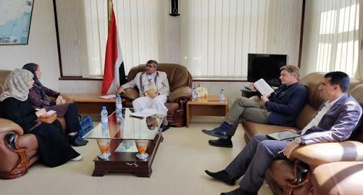 مسؤولون في صنعاء يلتقون مبعوثة الأمم المتحدة الى اليمن